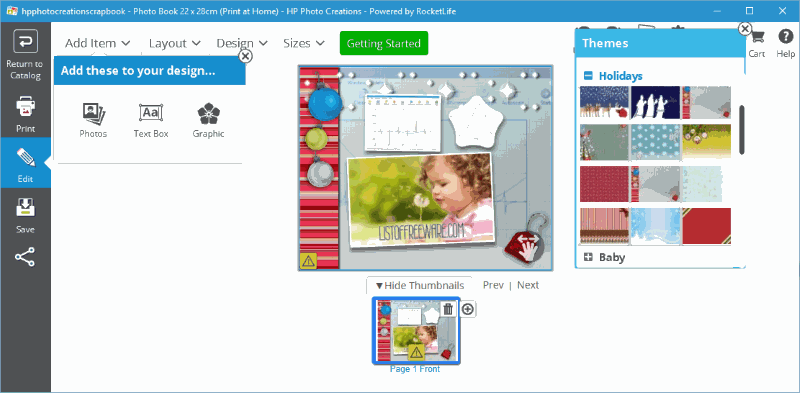 7 Best Free Scrapbook Maker Software For Windows