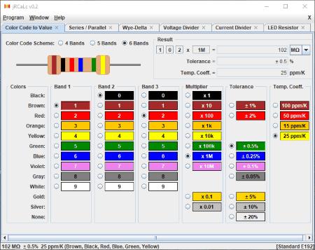 Download resistor color code print software: mental automation.