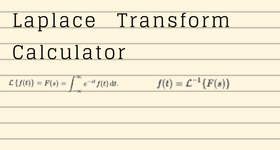 By Photo Congress || Inverse Laplace Transform Calculator