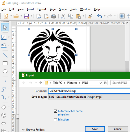 7 Best Free Png To Svg Converter Software For Windows