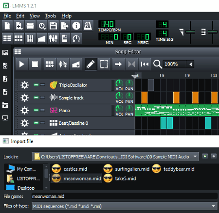 7 Best Free Open Source Midi Software For Windows