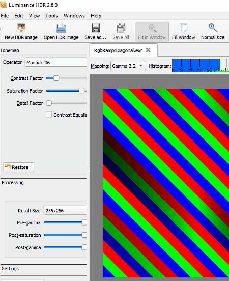 EXR viewer software for Windows