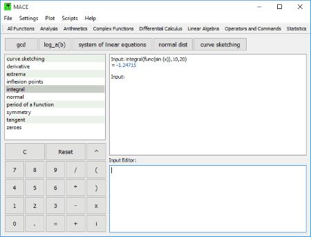 Complex integral calculator.
