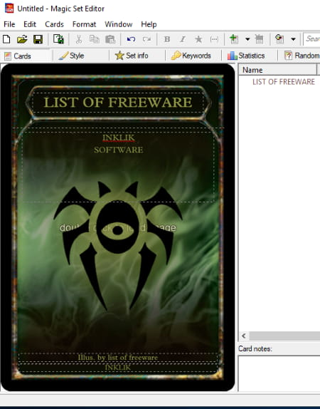 free card making software for windows 7