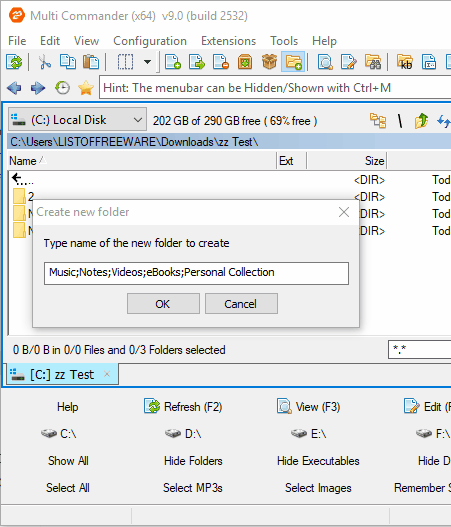 free batch folder creator software