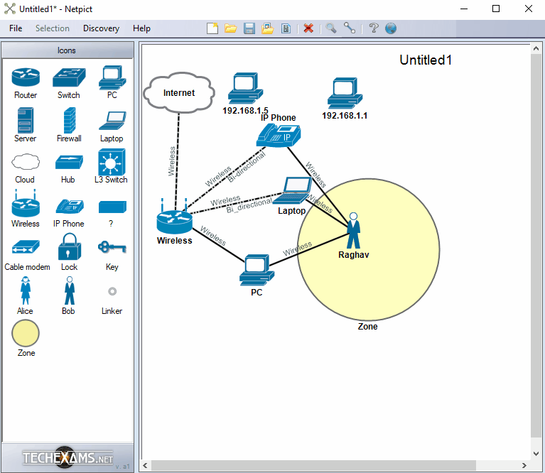 7 best free network diagram software for windows netpict is one of the easiest to use network drawing tools for windows the interface is quite simple and everything that you need to draw a network ccuart Images