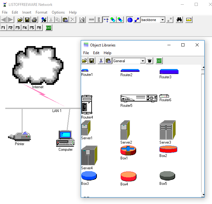 7 best free network diagram software for windows network notepad is another free software to create network diagrams it is an easy to use network diagram drawing tool for windows ccuart Images