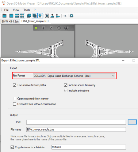 Free STL to DAE Converter Software