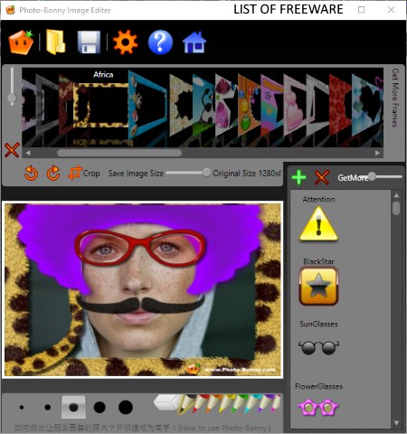 funny photo editor software