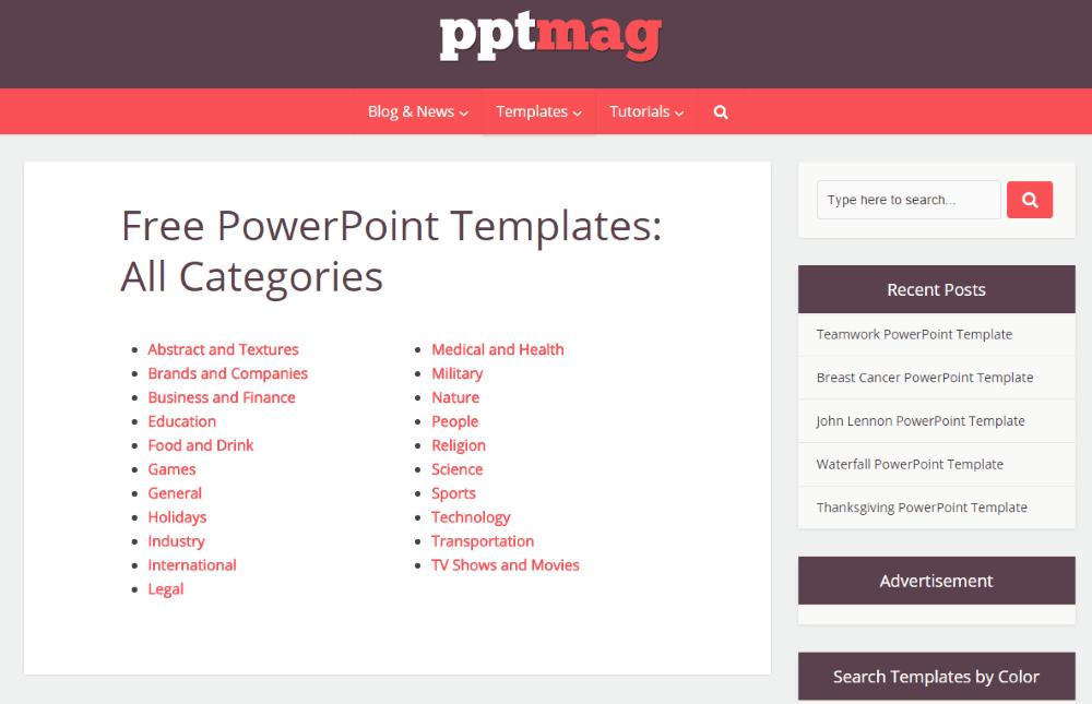 Best websites to download free powerpoint templates pptmag toneelgroepblik Choice Image