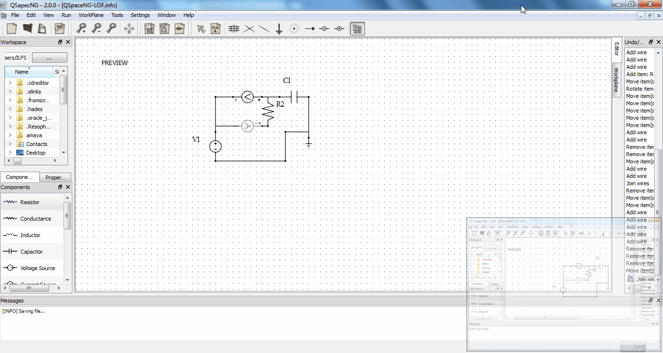 40 Best Free Circuit Design Software For Windows Java Breadboard Simulator This Is How You Can Use The Program Qsapecng A Qt Framework Based Open Source To Analog Circuits And Run Your With Freeware