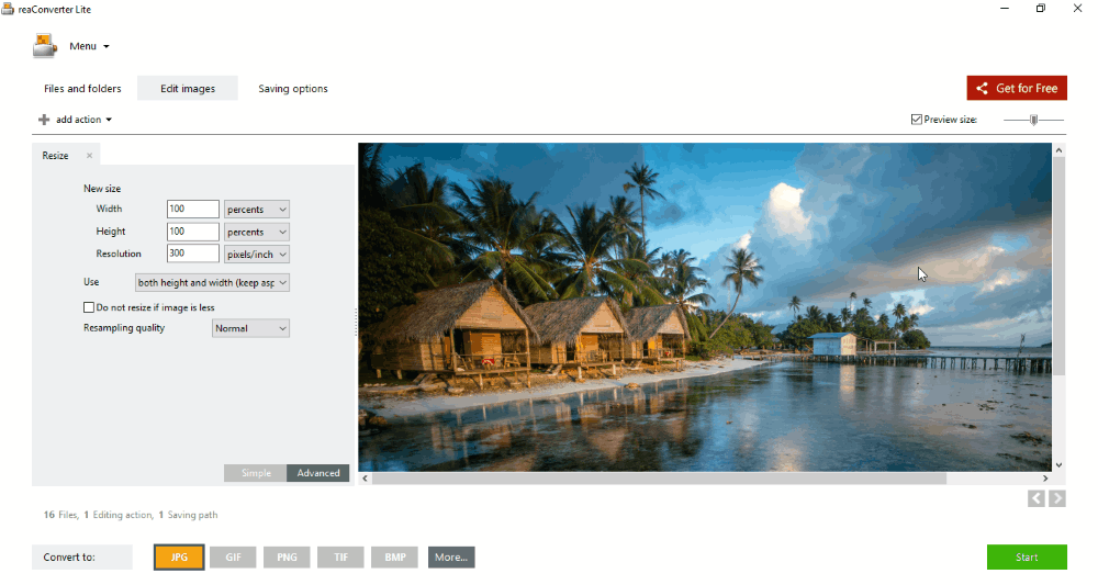 43 Best Free Bulk Image Resizer Software reaConverter Lite is a simple software that can be used as a batch picture  resizer. To download the trial version of the software you have to share  the link ...