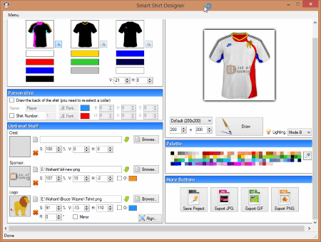 6 Best Free T Shirt Design Software For Windows