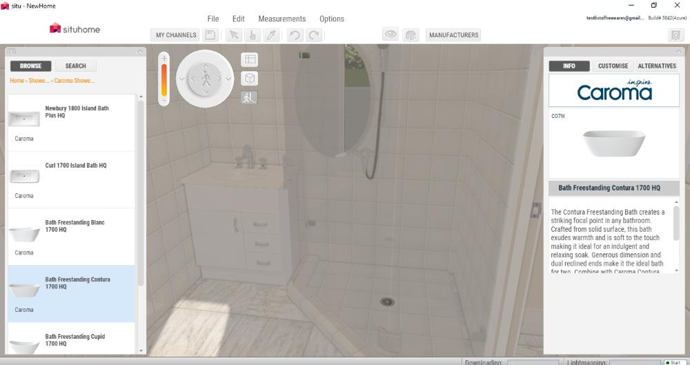 6 best free bathroom design software for windows - Bathroom remodel design software free ...