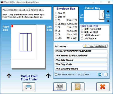 8 Best Free Envelope Printing Software