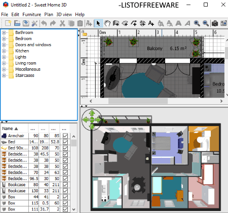 5 Best Free 3d Floor Plan Software For Windows
