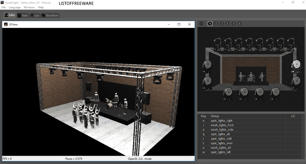 5 Best Free Stage Lighting Software For Windows