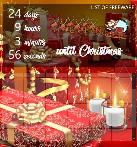 9 Best Free Christmas Countdown Clocks For Windows
