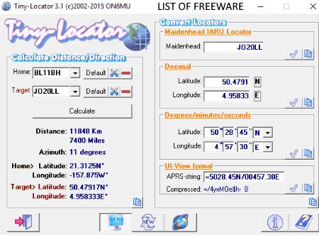 latitude longitude finder software