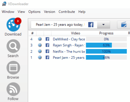 How to download multiple svg's from a facebook group and view them.