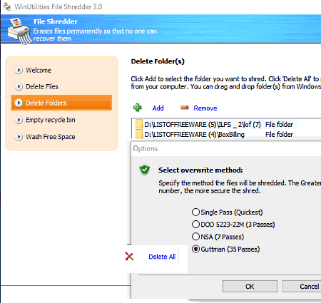 42 Best Free File Shredder Software For Windows