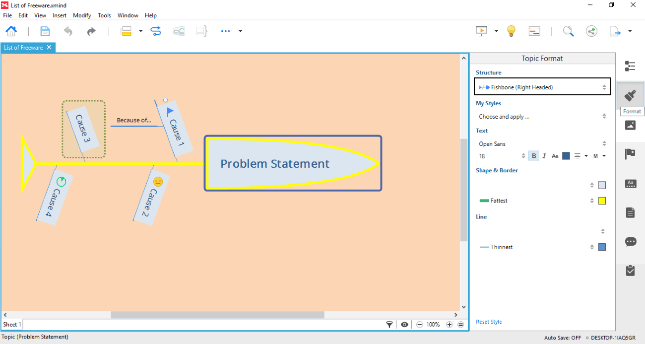 5 best free fishbone diagram maker software for windows